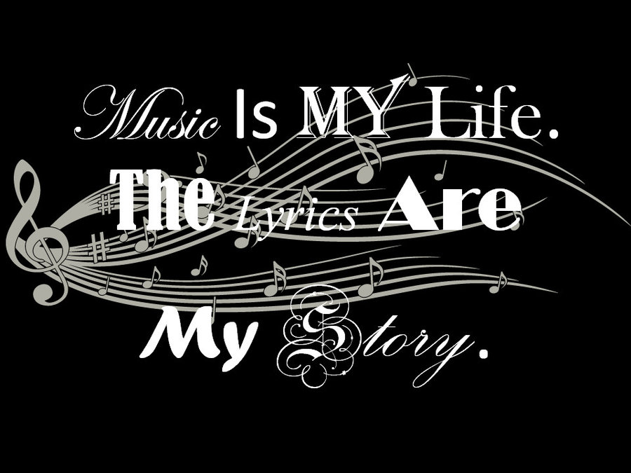 Music Is My Life Sleeping Lady